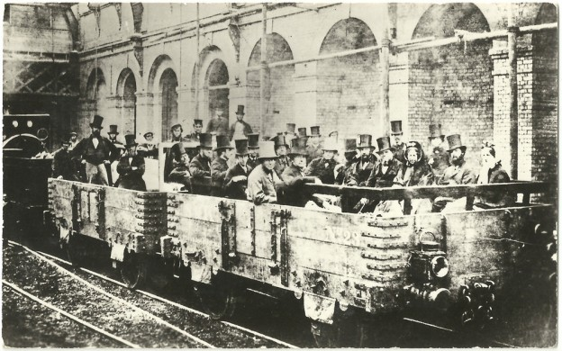 Estación de Londres, 1862
